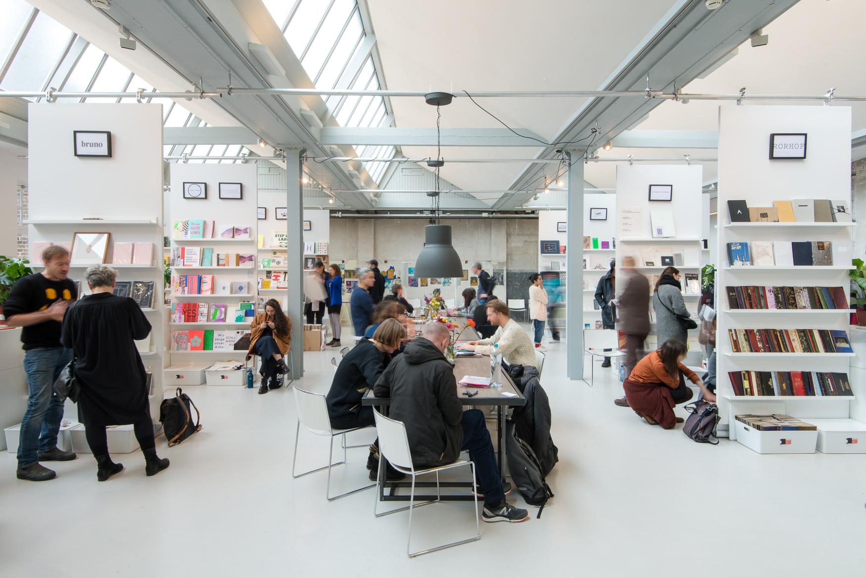 Printing Plant: Amsterdam Art Book Fair – My Bookcase